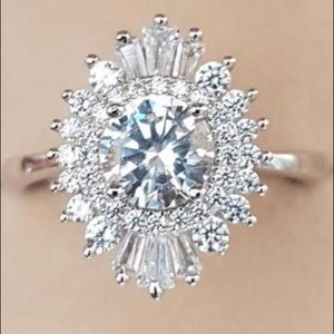 Vintage Engagement Ring Size 7 NEW
